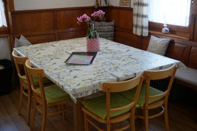 Wohnküche (vollausgestattet) Ferienhaus Meins Kals