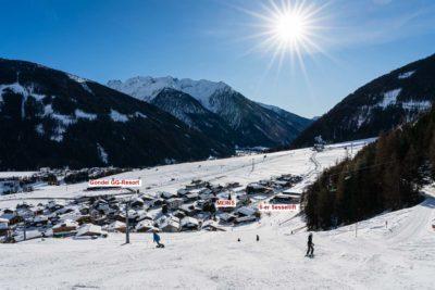 Schifahren am Ferienhaus Meins