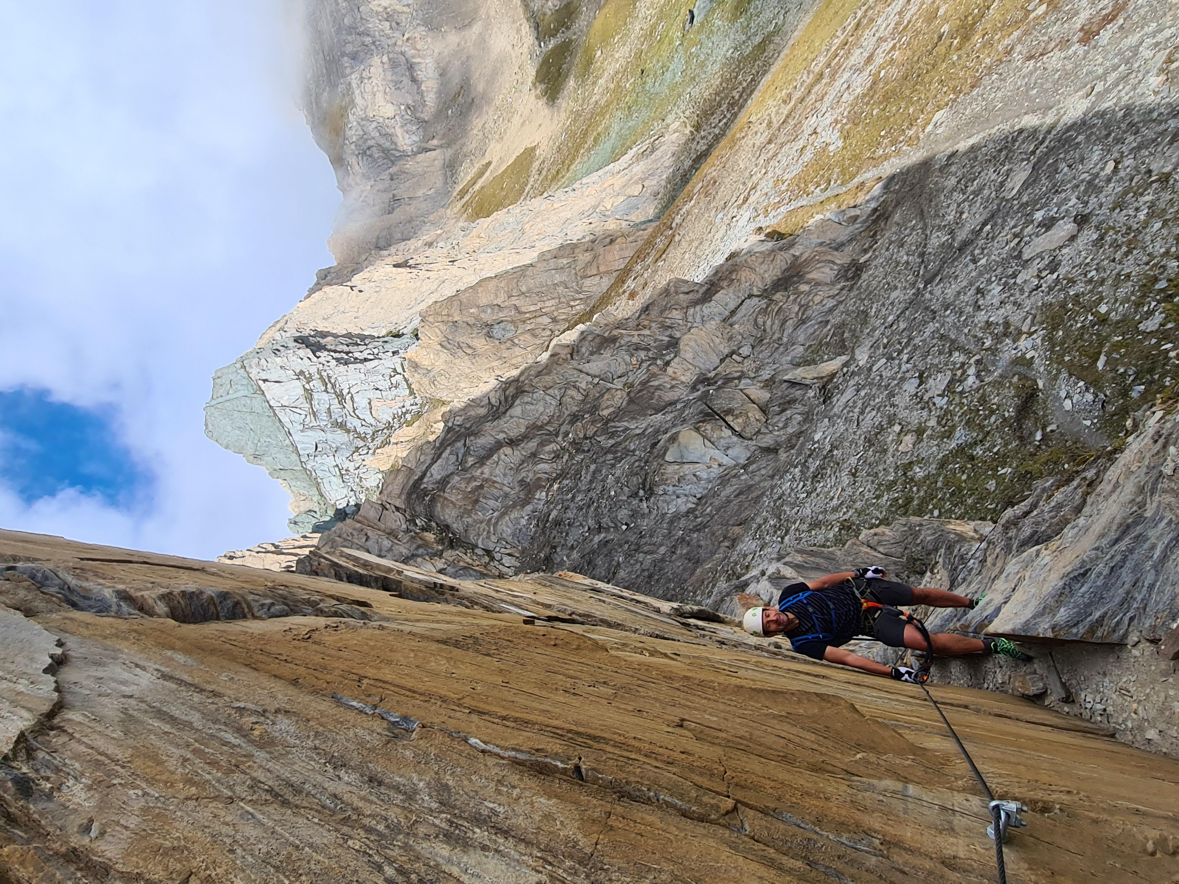 Osttiroler Klettersteig Rote Säule Virgental