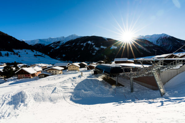 Schifahren Ferienhaus Meins Kals